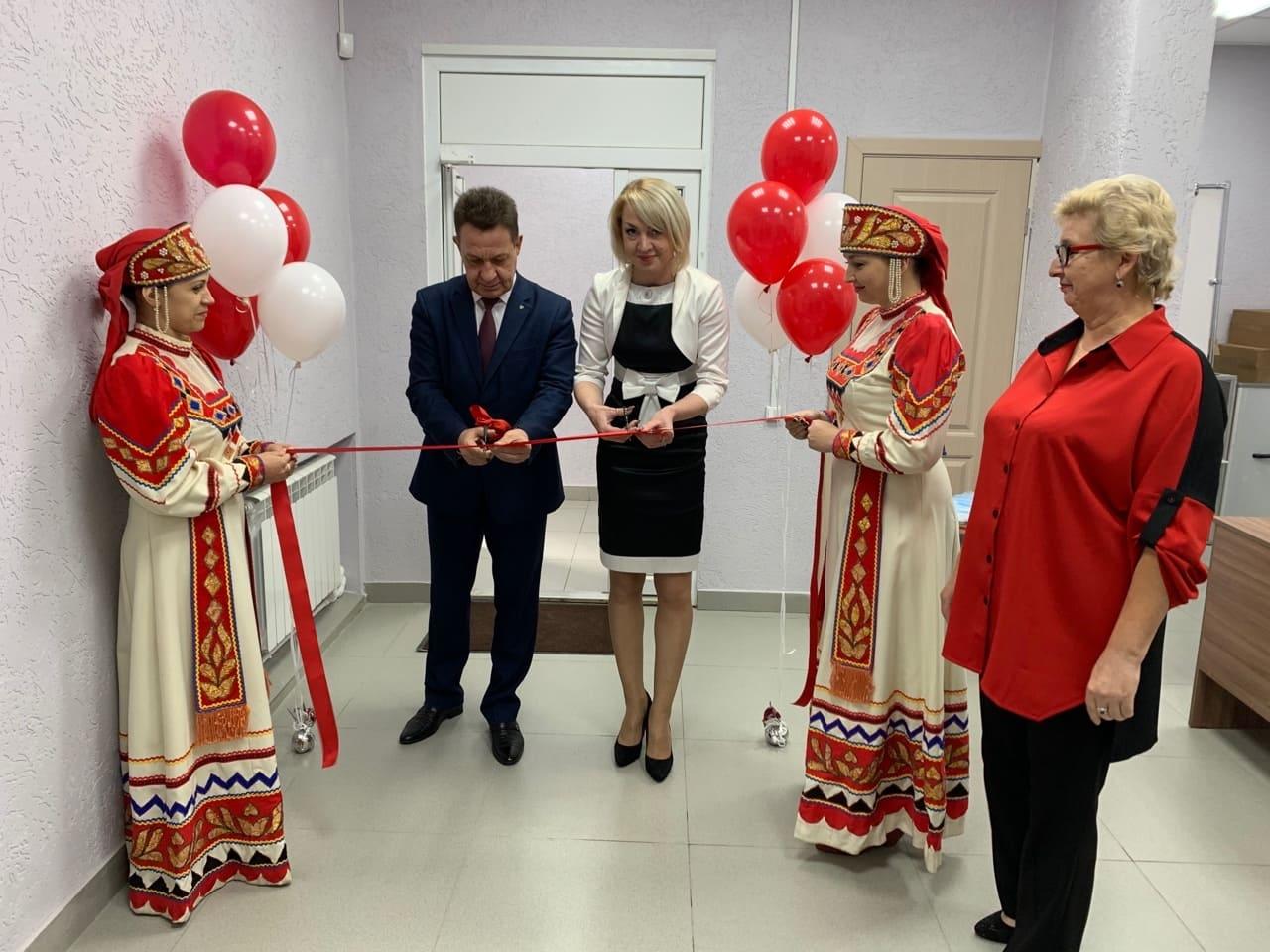 Открытие обновленного Культурно-досугового центра с. Китово